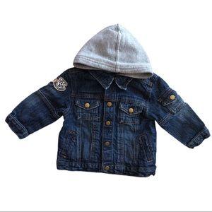 ⭐️ 18 Month Greendog Sweatshirt Lined Jean Jacket